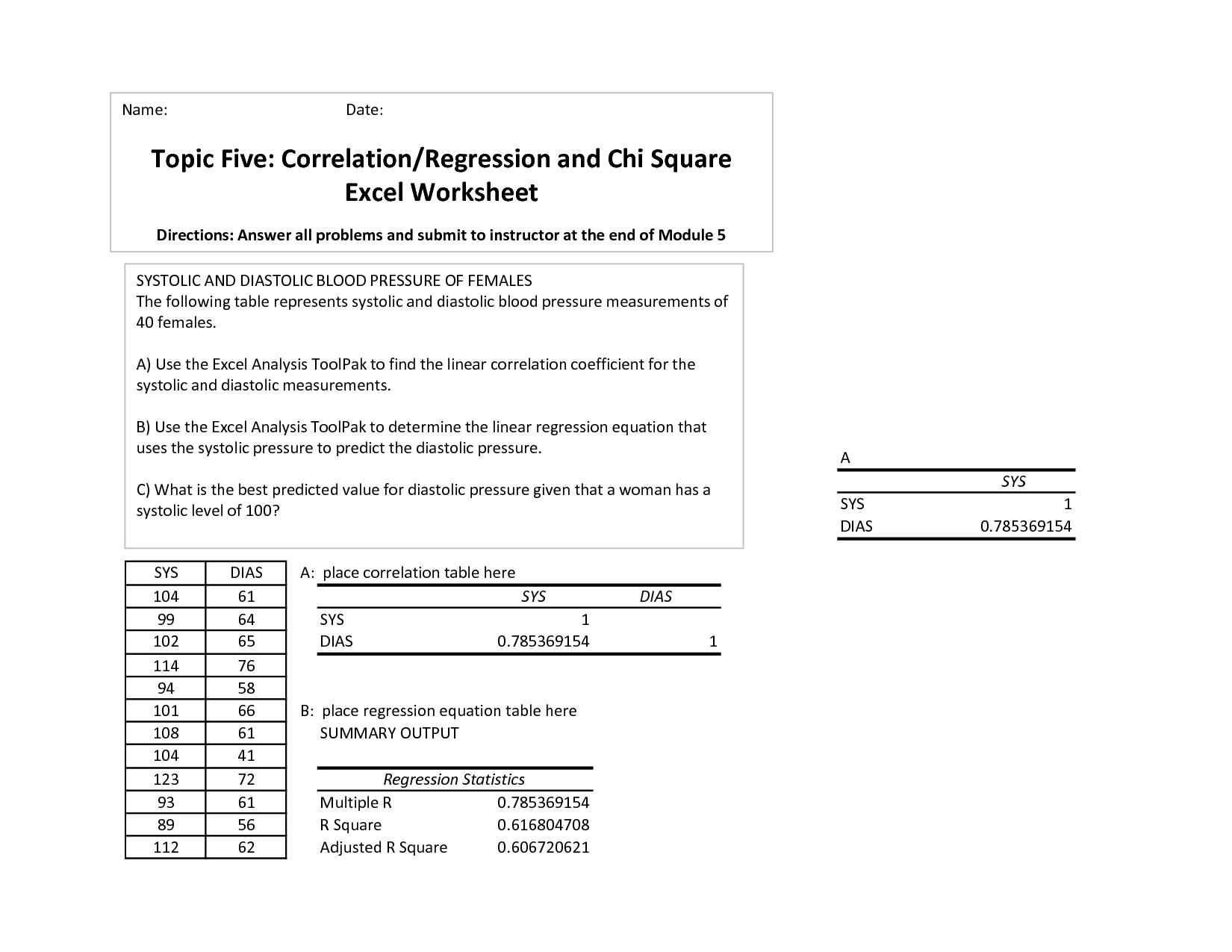 linear regression worksheets kidz activities. Black Bedroom Furniture Sets. Home Design Ideas