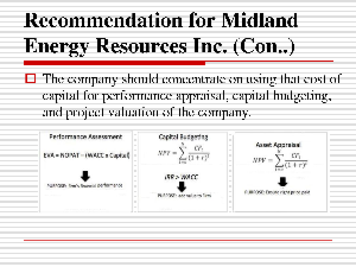 case analysis midland energy