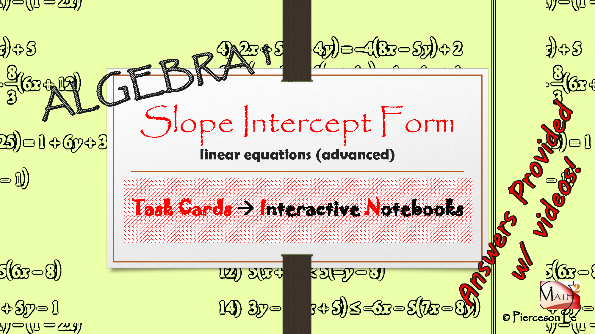 Solution algebra 1 linear equations in slope intercept form with solution algebra 1 linear equations in slope intercept form with parentheses studypool falaconquin