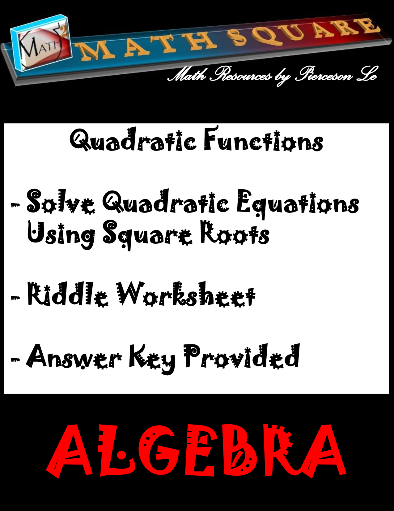 Solution Quadratic Functions And Graphs Studypool