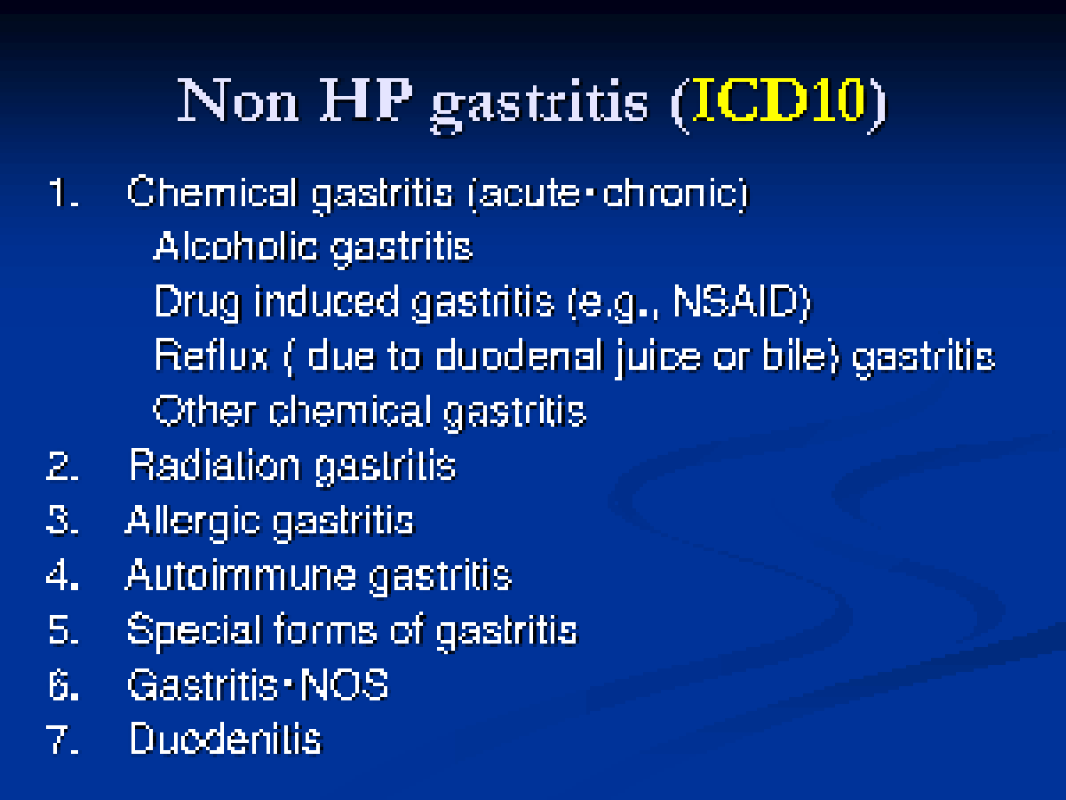 nonsteroidal gastropathy