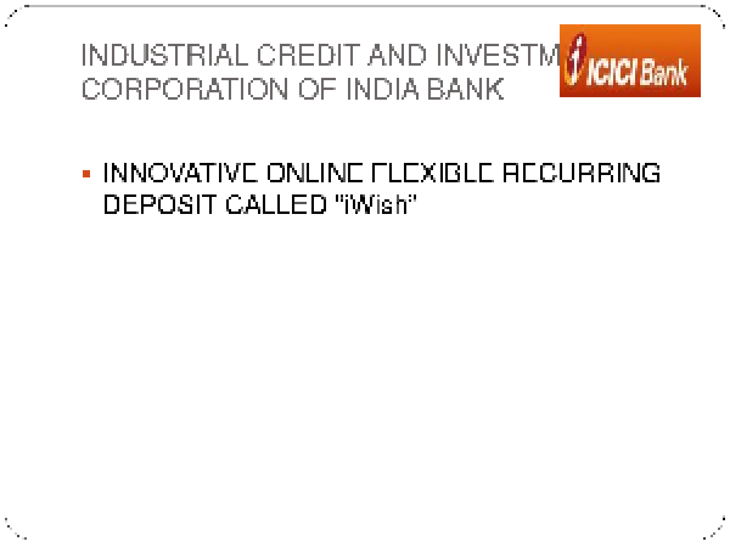 innovative financial instruments in india