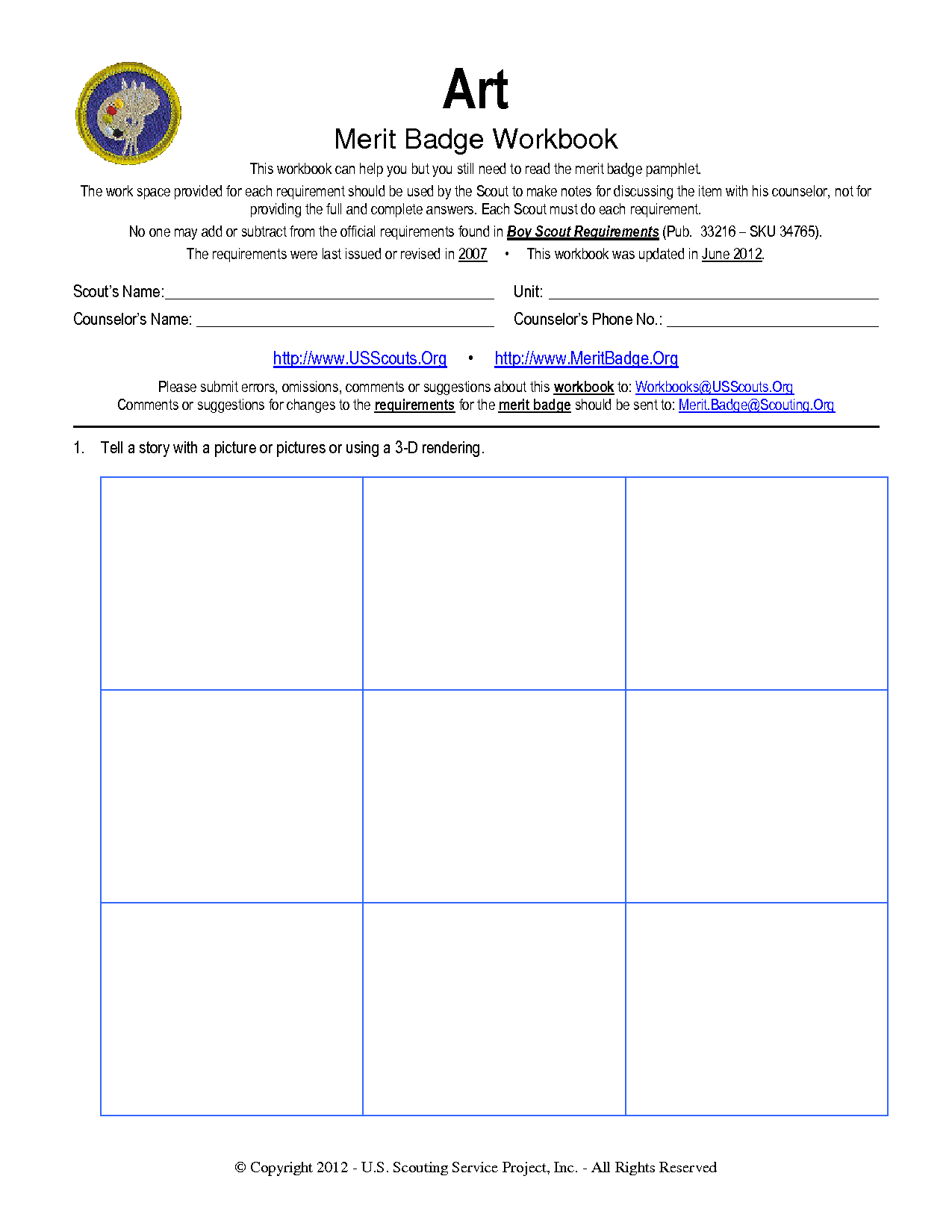 Workbooks usscouts org merit badge worksheets : worksheet. Art Merit Badge Worksheet. Grass Fedjp Worksheet Study Site
