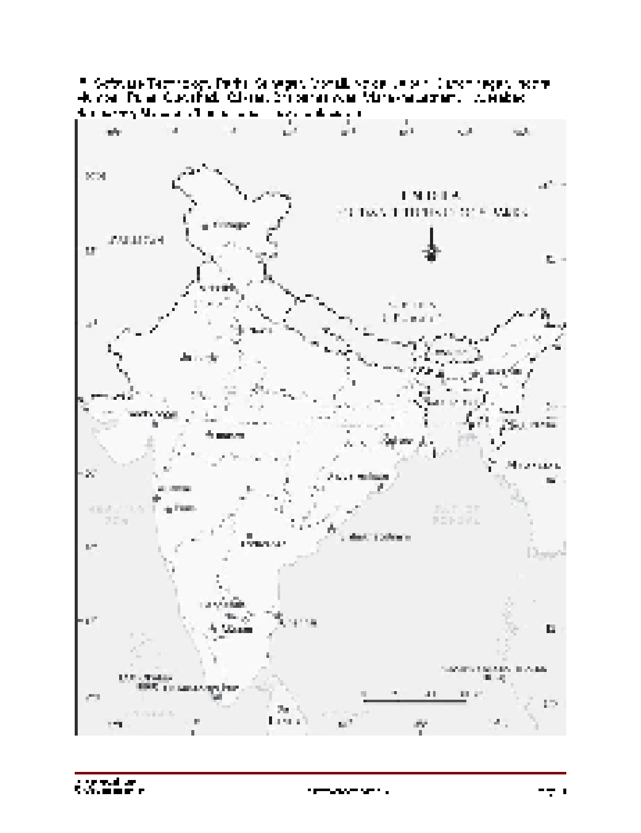 Solution geography outline political map of india studypool geographyoutline political map of indiaidentification only major soil typesryaveer singhpage 1chapter 3 water resourceslocating and labelling important thecheapjerseys Images