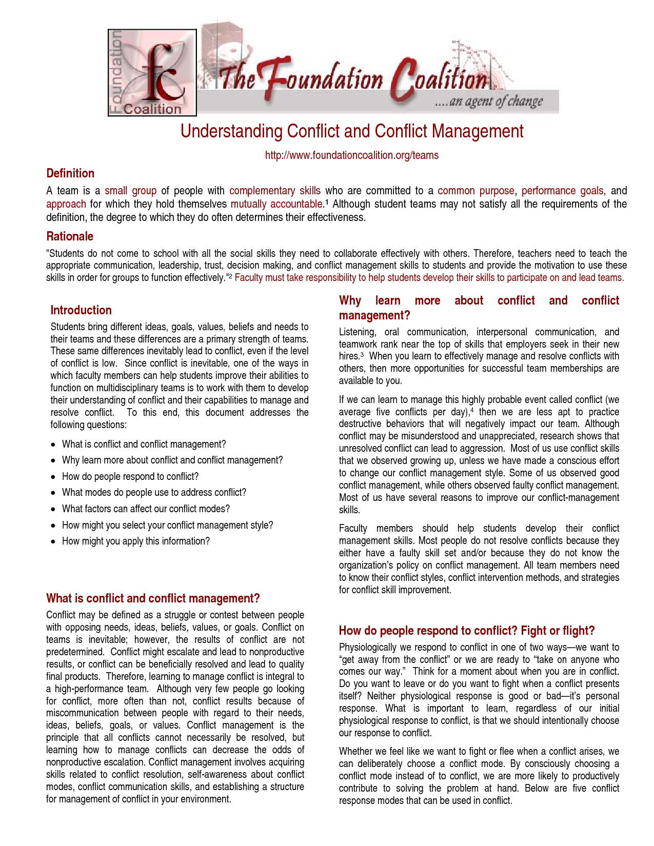 how is quinney s understanding of conflict What is conflict resolution the art of conflict management can be the key to professional growth it all starts with our five-step conflict resolution process.