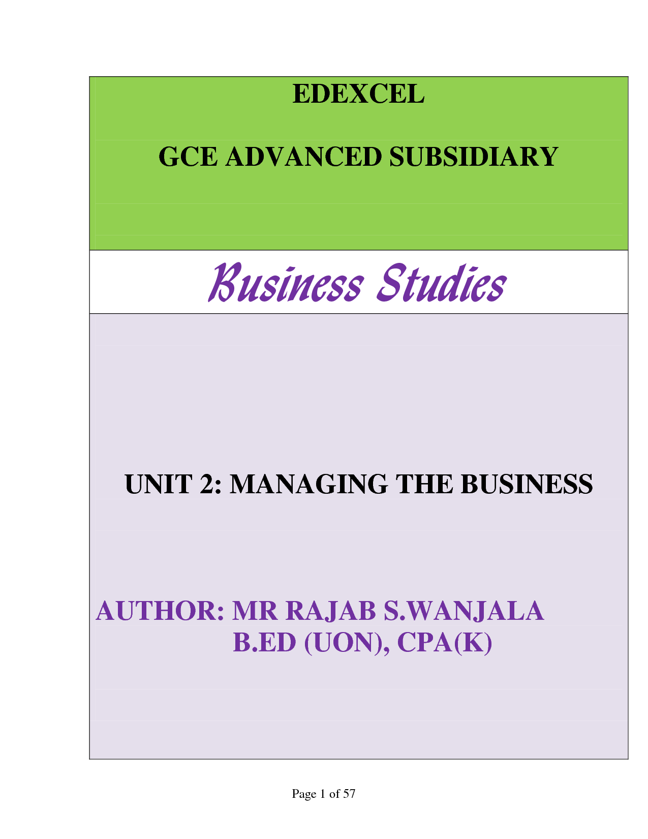 business studies notes Accounting, business, business studies & economics – mr hannon, st gerald's college  the business notes on this page were uploaded by tom naughton.