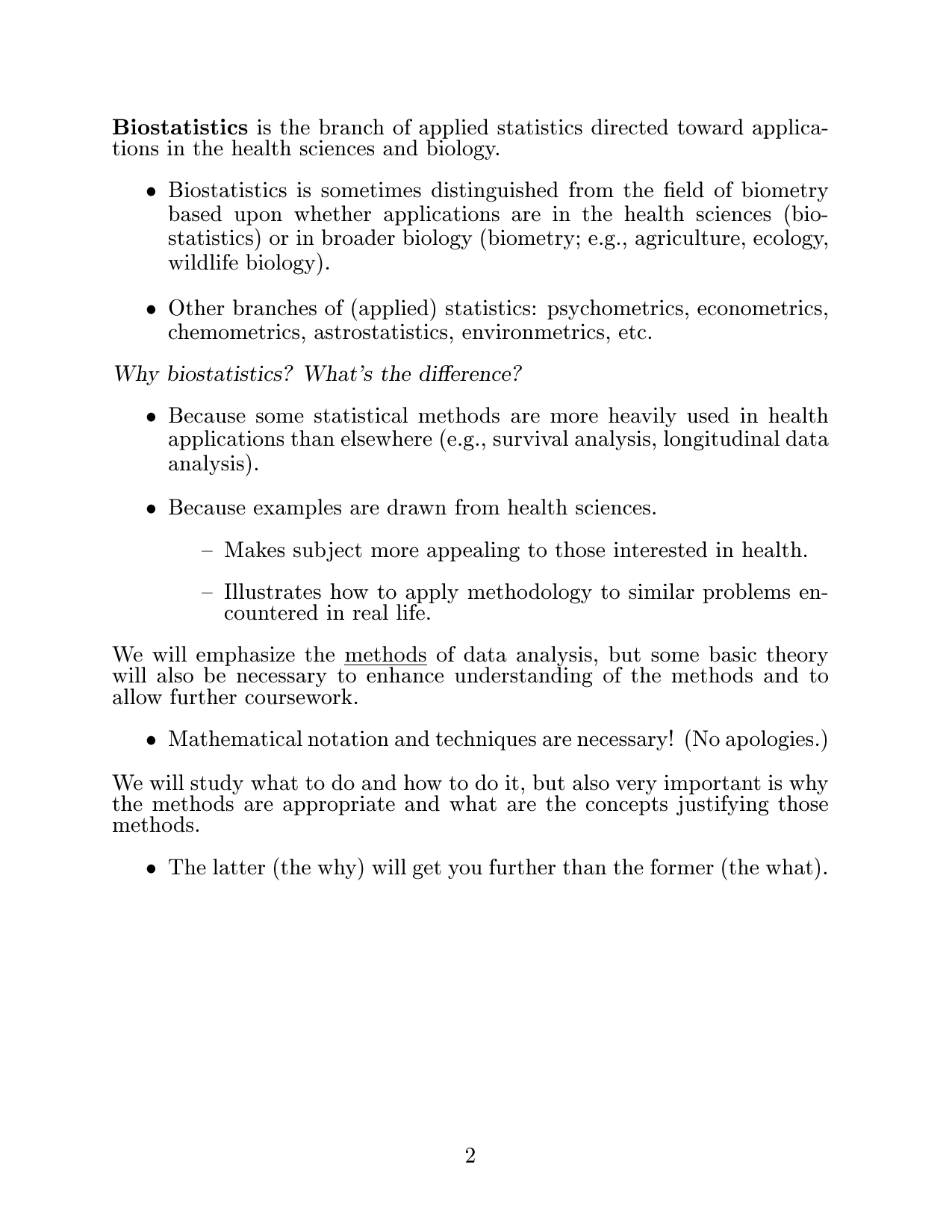 Resume help biostatistician