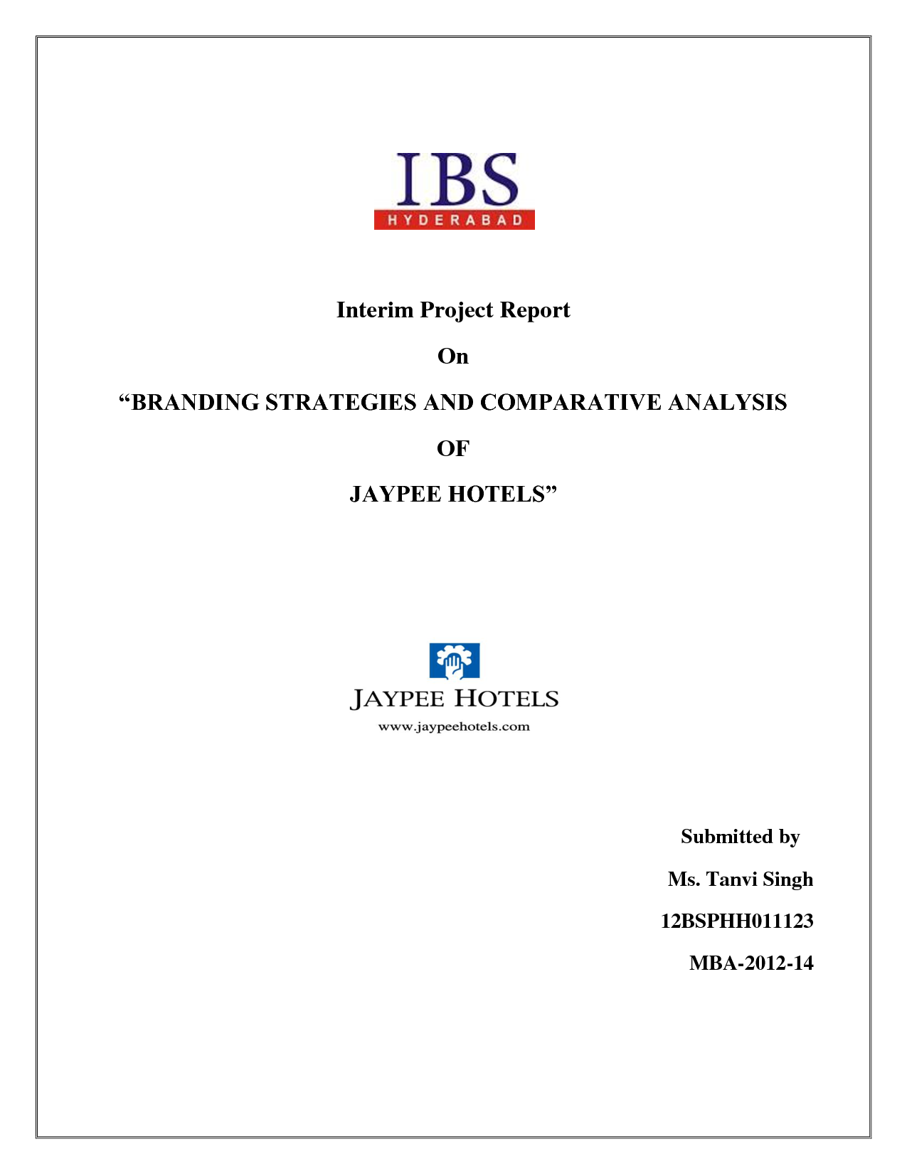Interim evaluation report