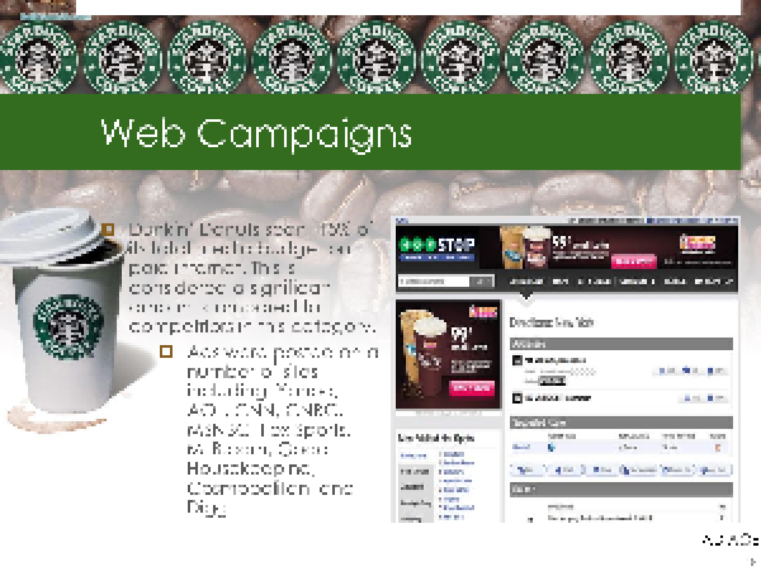 management in action starbucks marketing essay This marketing report is a guidebook that will help our marketing management team implement our latest marketing strategies we have provided our executive summary, current situation analysis, and future marketing strategy.