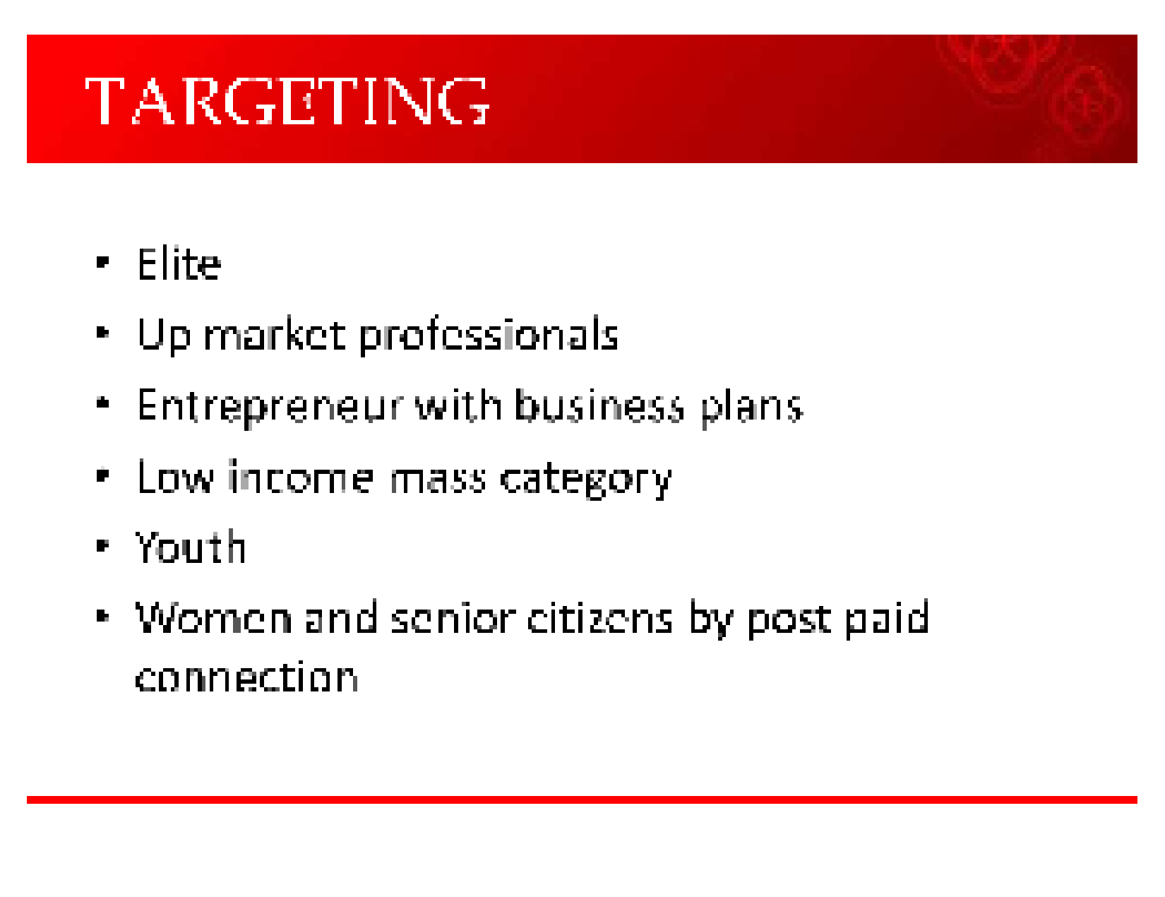 airtel marketing strategy essays Tigo (tigo cash) and airtel (airtel money) popularized the innovation and mtn has taken it over through its marketing and sales primary activity swot analysis the swot analysis is a framework used for scanning the internal and external environments of an organization for s trengths, w eaknesses, o pportunities and t hreats.