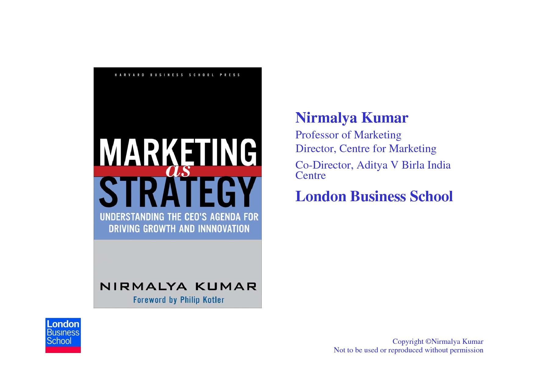 strategies to fight low cost rivals nirmalya kumar