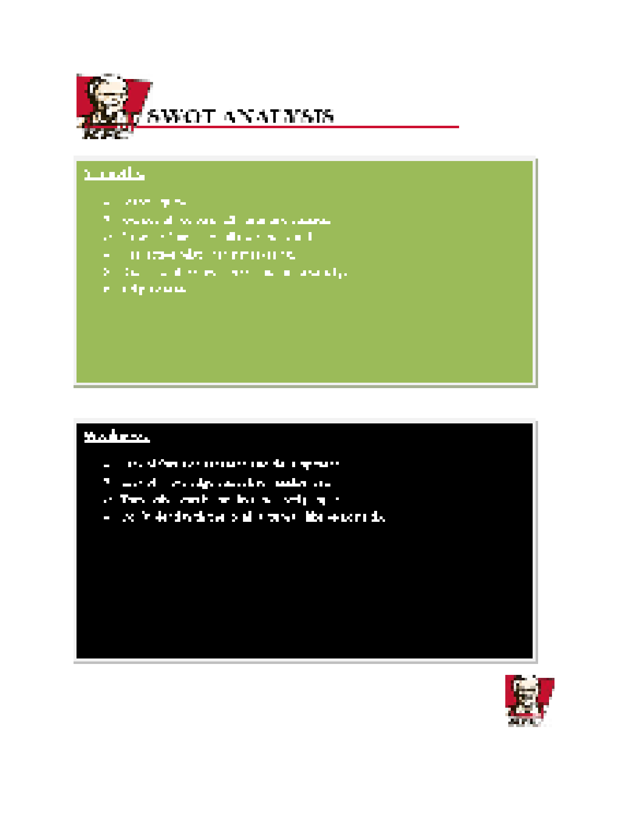 kfc marketing plan View kfc marketing plan presentations online, safely and virus-free many are downloadable learn new and interesting things get ideas for your own presentations.