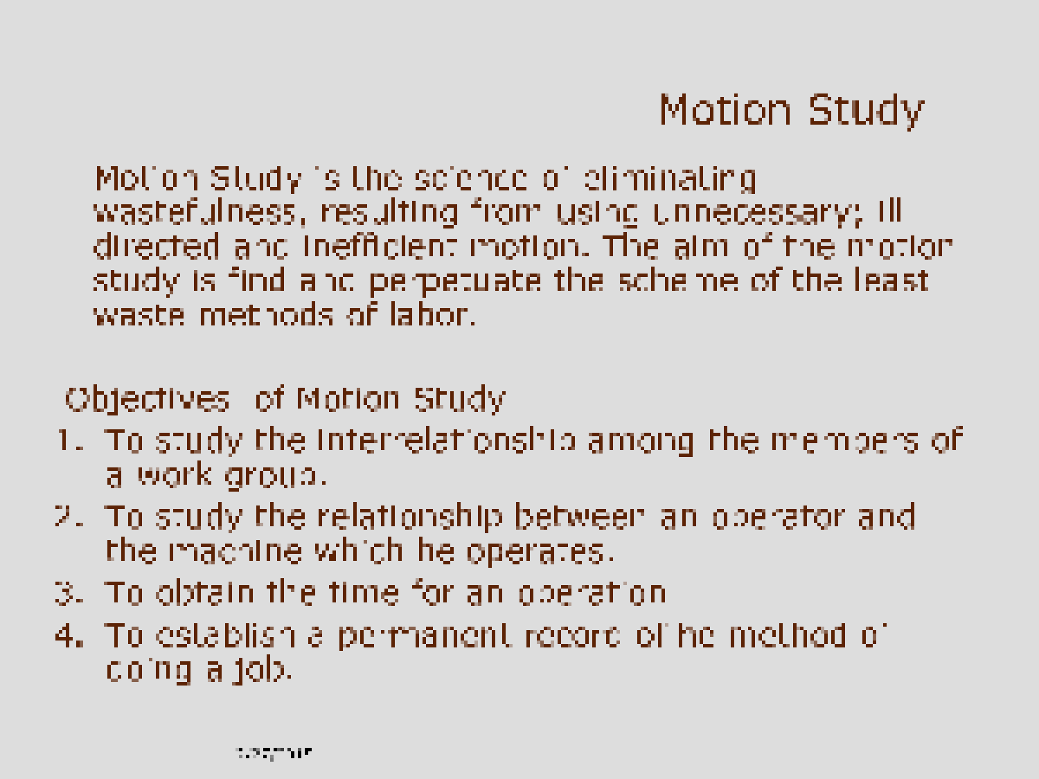 operations mgmt chapter 1 solution The management of systems or processes that create goods and or provide services b a sequence of activities and organizations involved in producing and delivering a good or service.