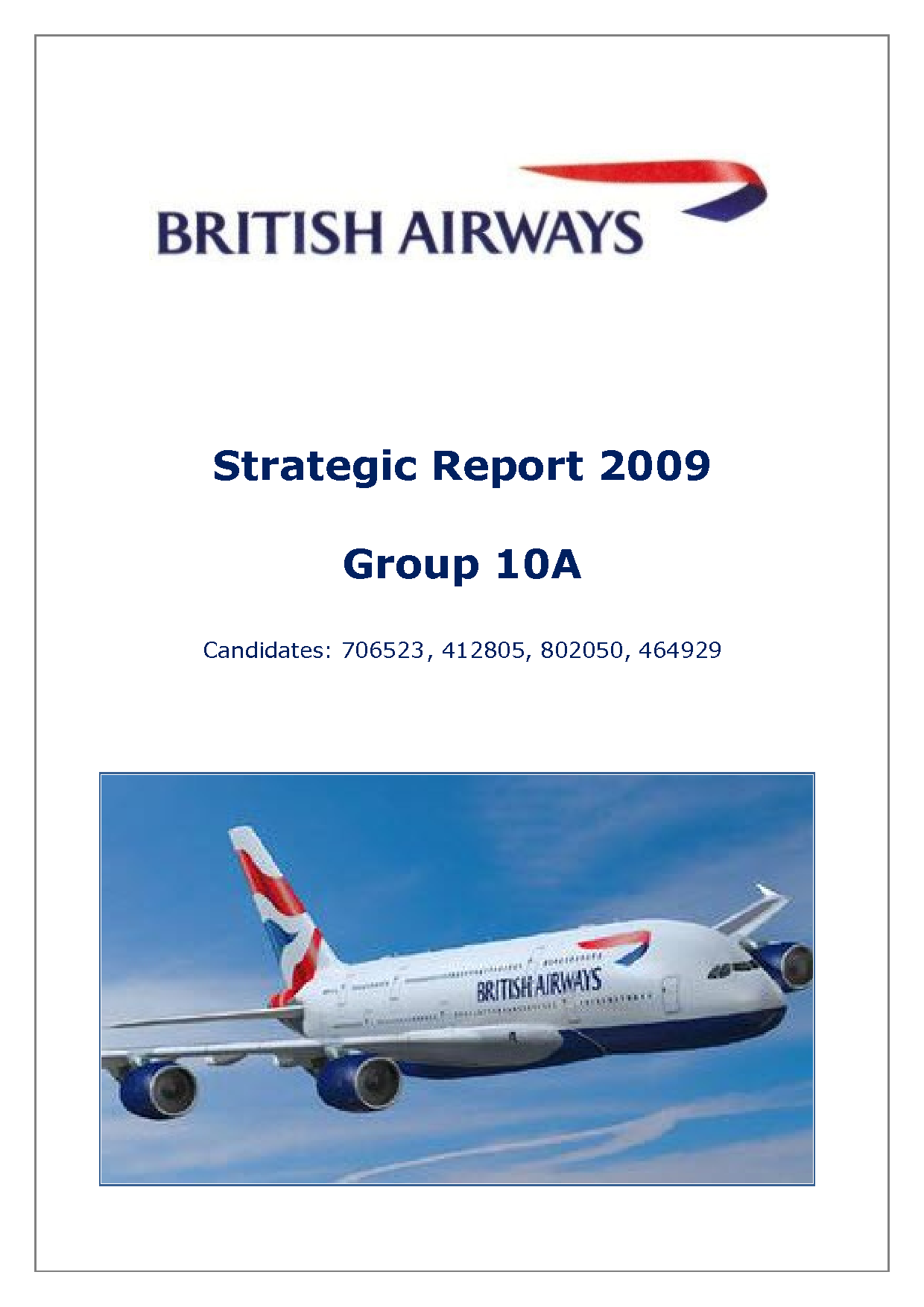 marketing strategy airlines