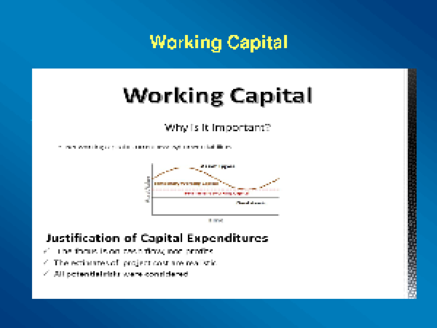 week 6 capital budgeting Capital budgeting case your company is thinking about acquiring another corporation you have two choices—the cost of each choice is $250,000 you cannot spend more than that, so acquiring both corporations is not an option.