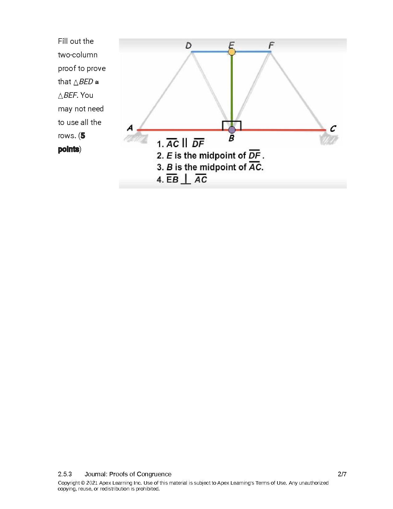 SOLUTION: Geometry Proofs of Congruence Worksheet - Studypool In Geometry Worksheet Beginning Proofs