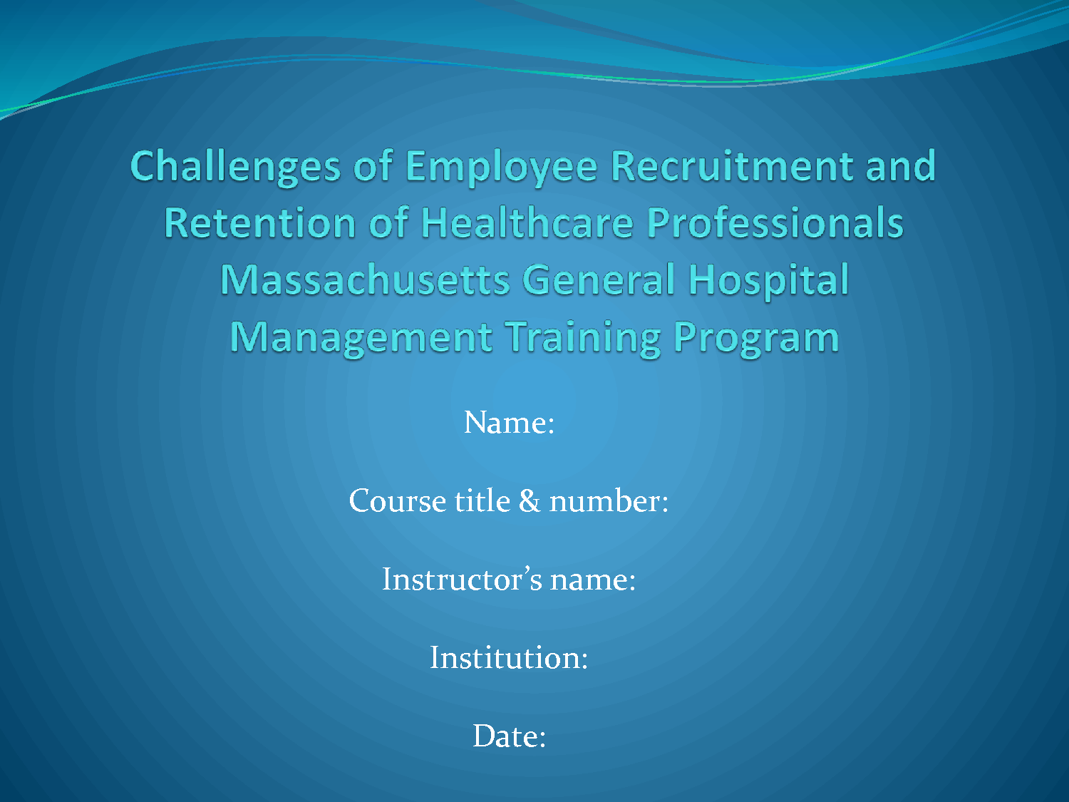 the challenges of employee recruitment and retention of health care professionals As baby boomer healthcare professionals retire and more individuals gain access to healthcare coverage, there may be more substantial physician shortages in response to losing more employees in the highly competitive market, the survey found that turnover was the largest hiring and recruiting concern in 2015.