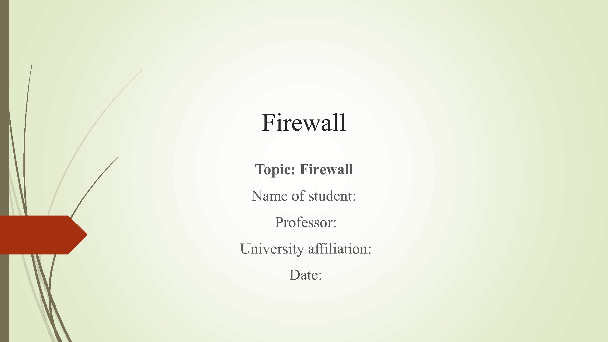 SOLUTION Firewall History And Comparison