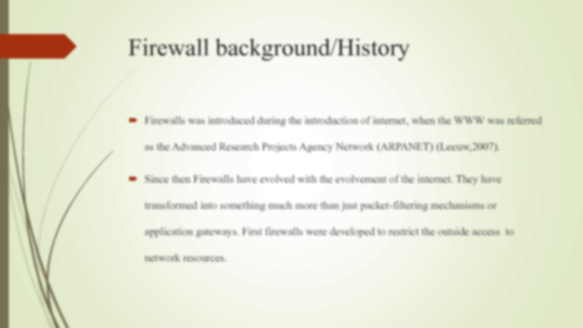 an introduction to the history of firewall 82-10-16 an introduction to internet security and firewall policies william hugh murray payoff this article is an introduction to security on the internet.
