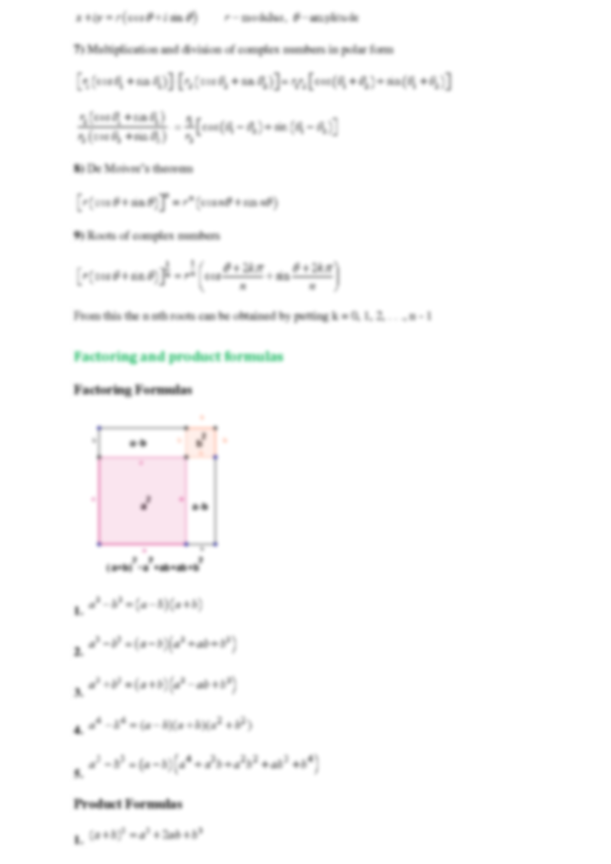 MULTIPLE CHOICE REVIEW WORKSHEET FOR COLLEGE ALGEBRA FINAL EXAM – College Algebra Worksheets
