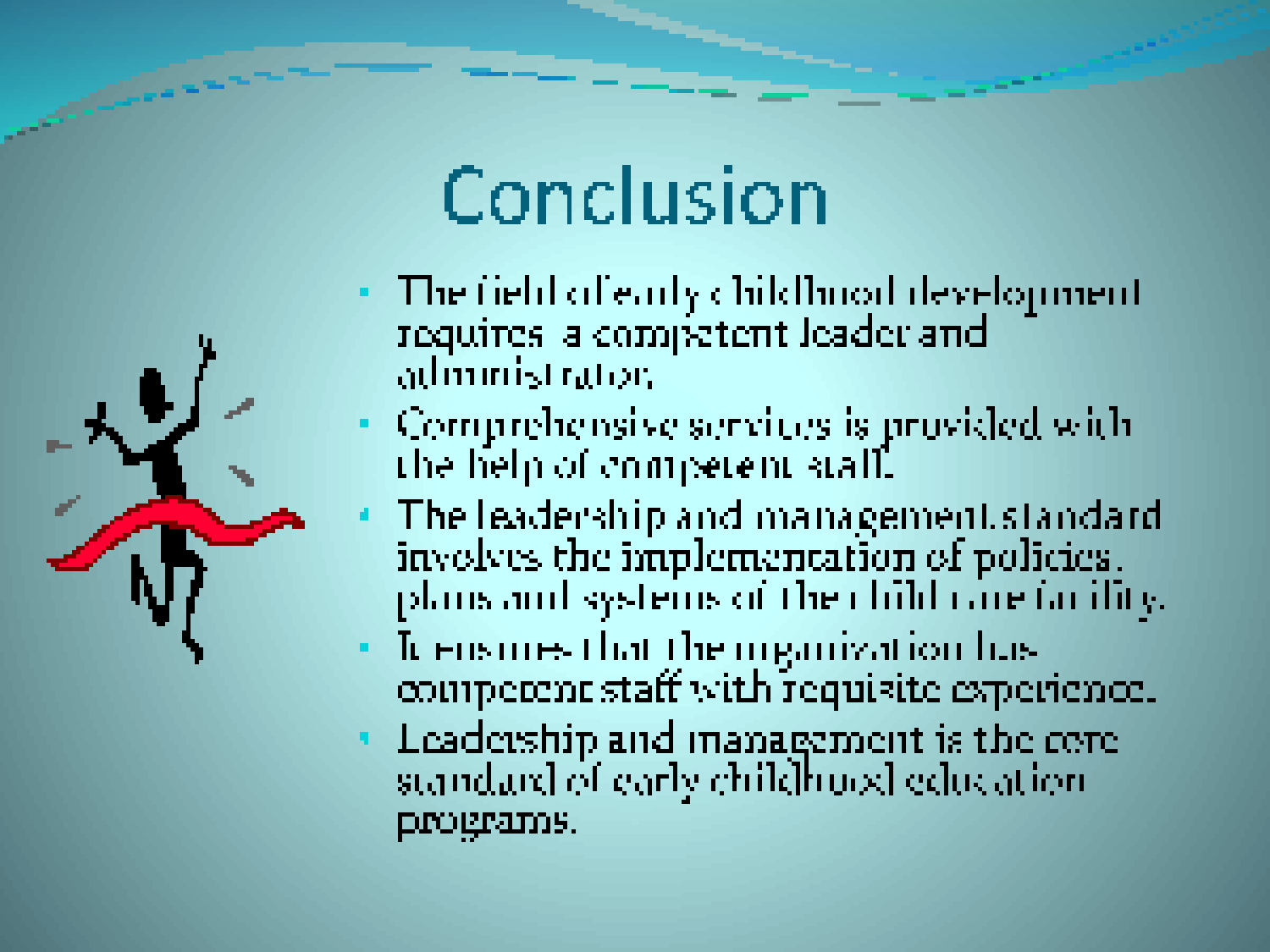 conclusion of leadership assignment