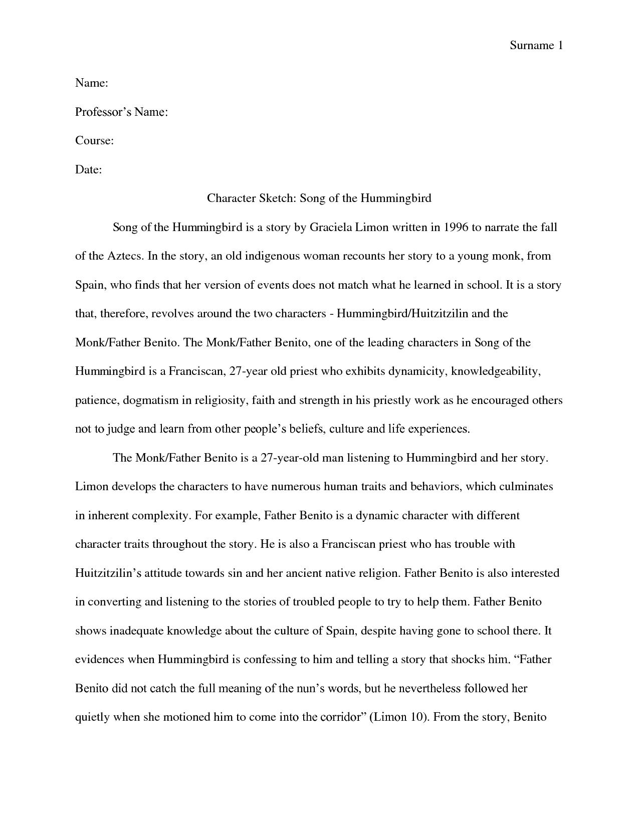 Essay song hummingbird high school homework organizer