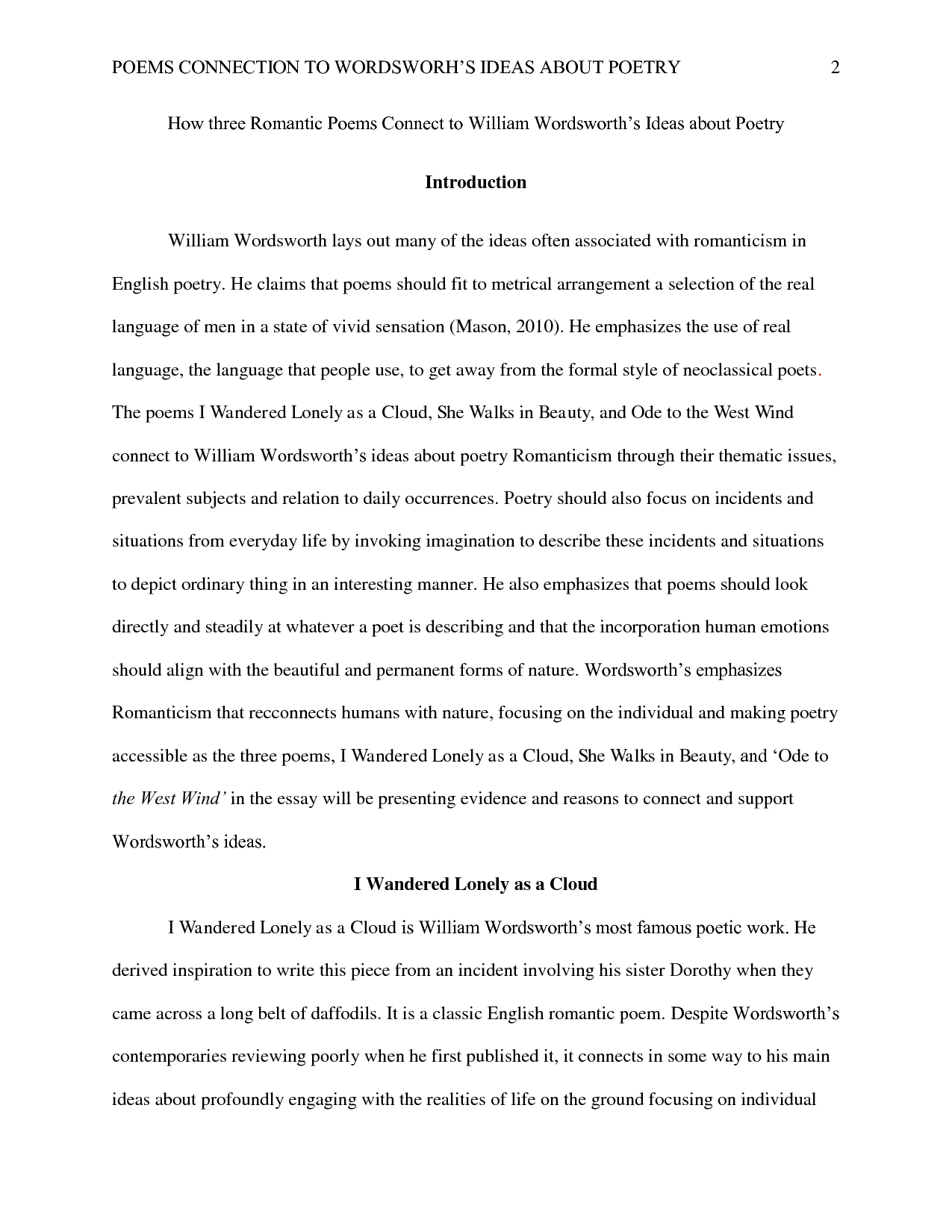 Example of good thesis